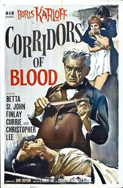 Us poster from the movie Corridors of Blood