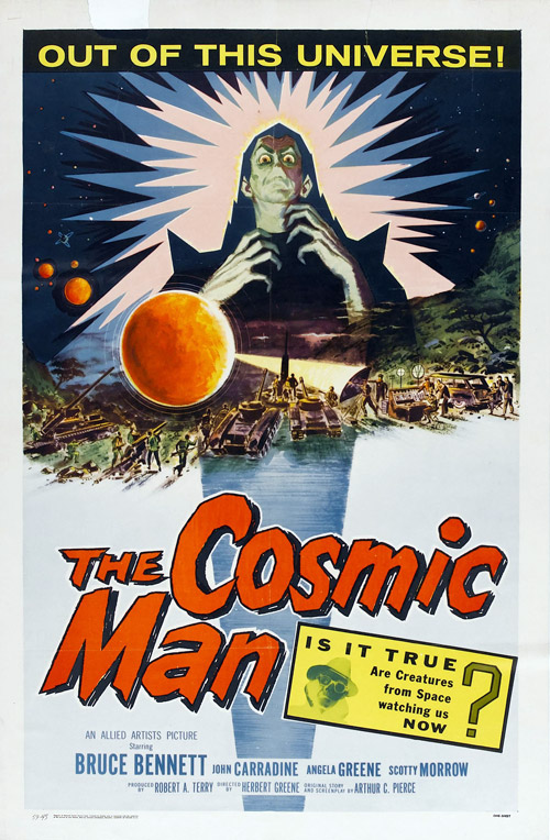 Us poster from the movie The Cosmic Man
