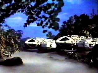 Two Eagles land on a strange planet - Space 1999 (Space: 1999)
