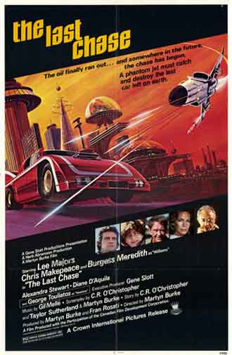 Us poster from the movie The Last Chase