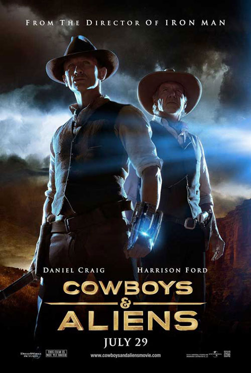 Us poster from the movie Cowboys & Aliens