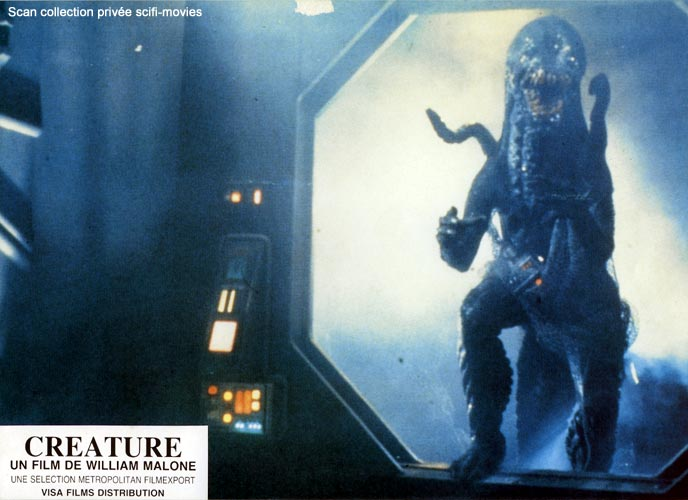 Photo de 'Creature' - ©1985 Metropolitan Scan scifi-movies - Creature (Creature) - cliquez sur la photo pour la fermer