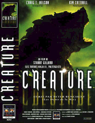French poster from the TV movie Creature