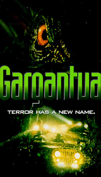 French poster from the TV movie Gargantua