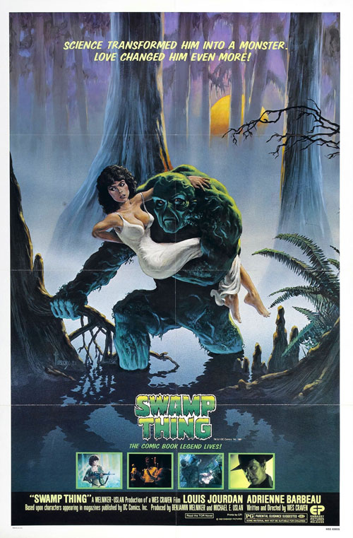 Us poster from the movie Swamp Thing