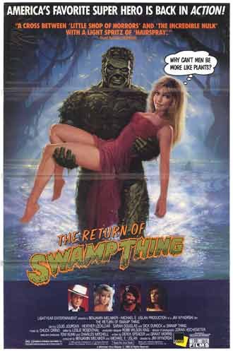 Us poster from the movie The Return of Swamp Thing