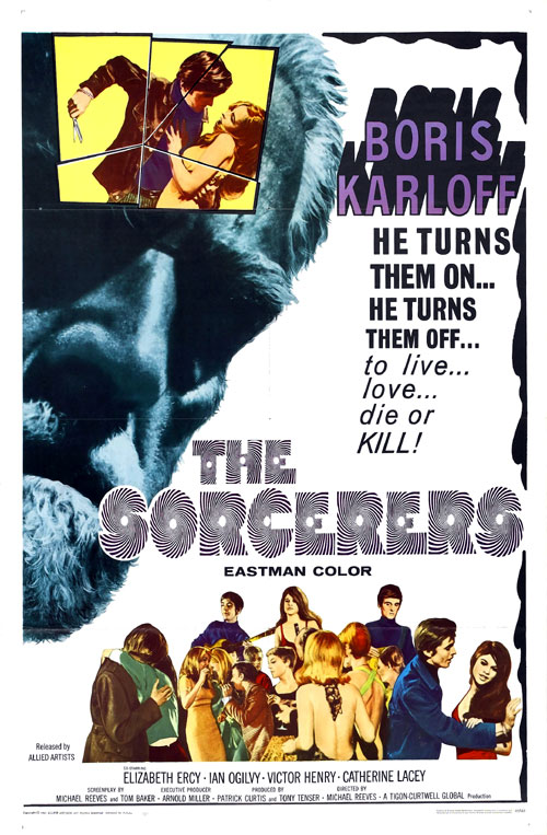 Us poster from the movie The Sorcerers