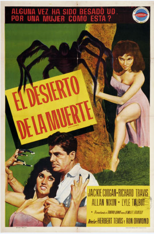 Argentinian poster from the movie Mesa of Lost Women