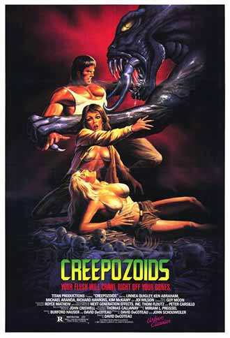 Us poster from the movie Creepozoids