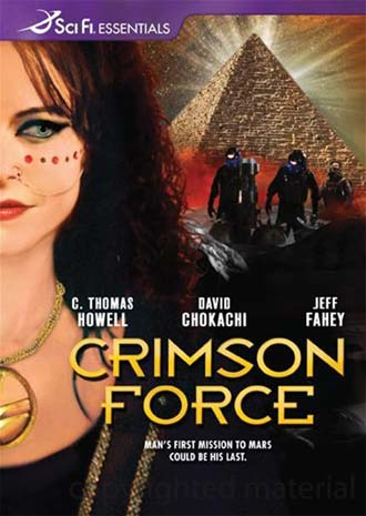Unknown artwork from the TV movie Crimson Force