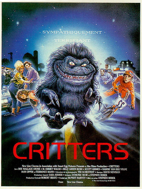 critters 1986 movie poster 1 scifimovies