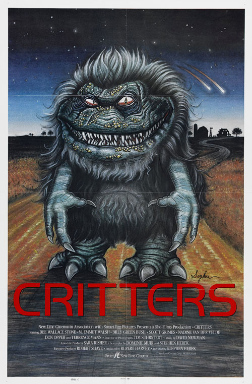 Us poster from the movie Critters