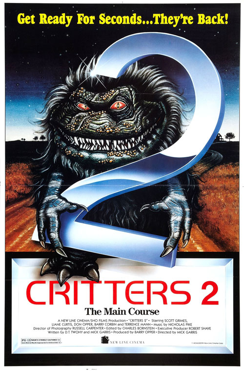 Us poster from the movie Critters 2