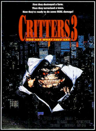 Unknown poster from the movie Critters 3