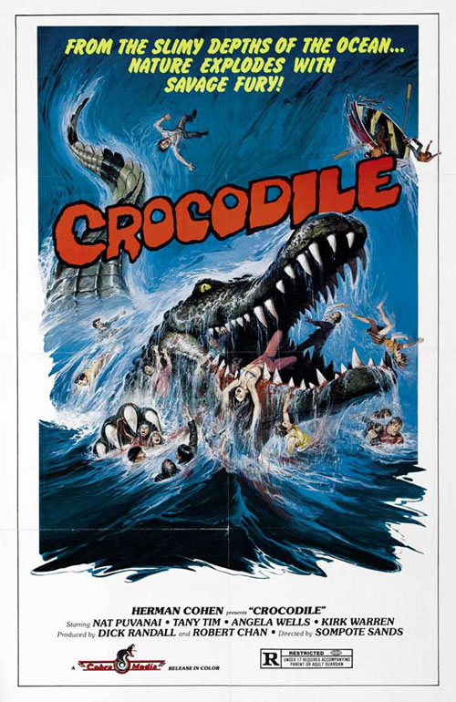 Us poster from the movie Crocodile (Chorake)