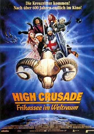 French poster from the movie The High Crusade