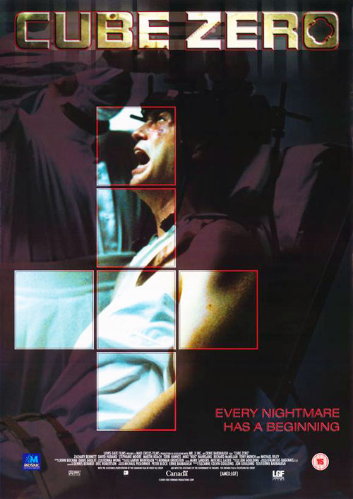 Us poster from the movie Cube Zero