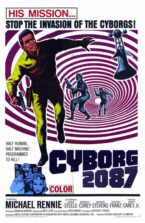 Us poster from the movie Cyborg 2087