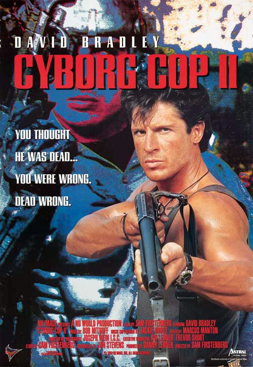 Us poster from the movie Cyborg Cop II