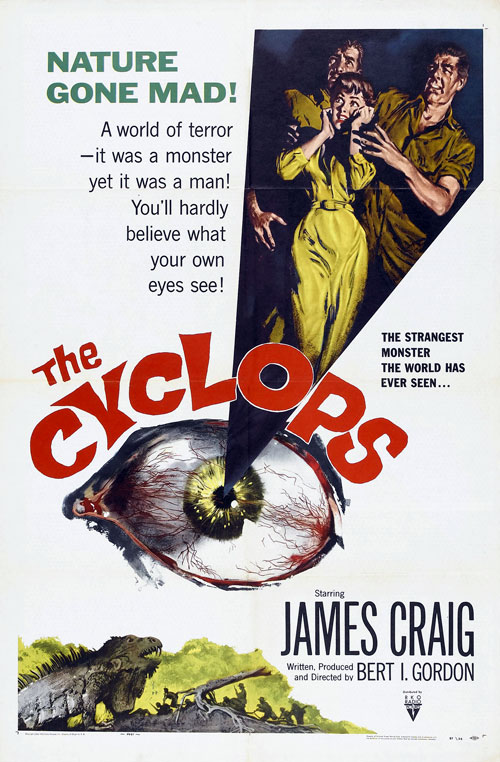 Us poster from the movie The Cyclops