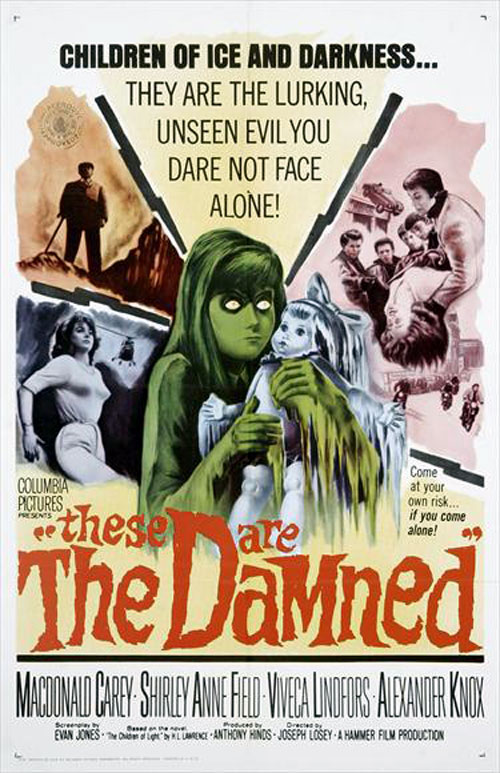 Unknown poster from the movie The Damned