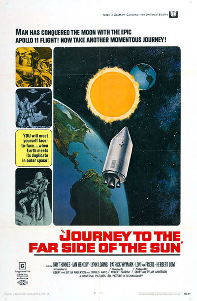 Us poster from the movie Journey to the Far Side of the Sun (Doppelgänger)