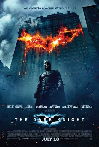 Us poster from the movie The Dark Knight