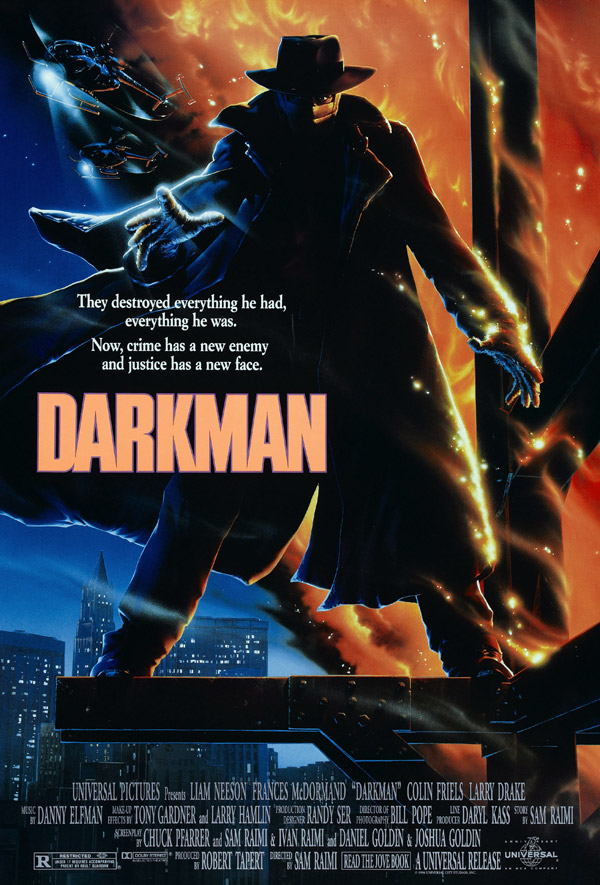 Us poster from the movie Darkman