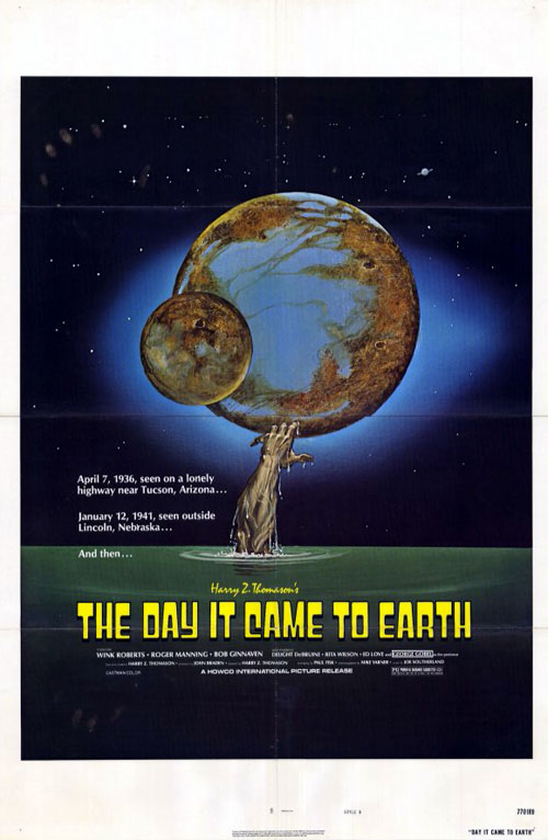 Us poster from the movie The Day It Came to Earth