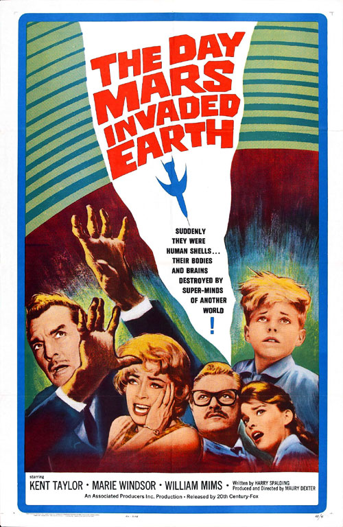 Us poster from the movie The Day Mars Invaded Earth