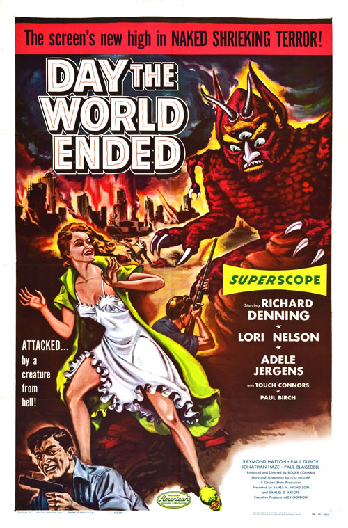 Us poster from the movie Day the World Ended