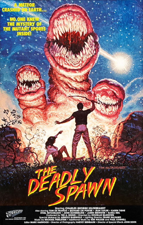 Affiche américaine du film The Deadly Spawn