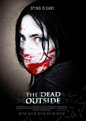 Affiche britannique de 'The Dead Outside'