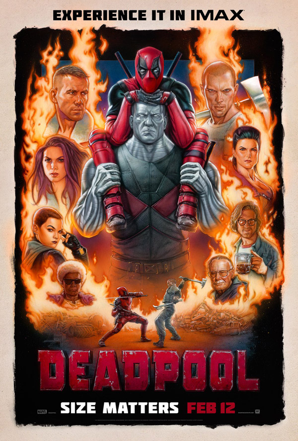 Us poster from the movie Deadpool