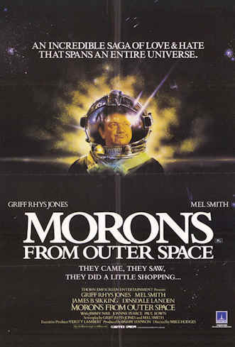 Us poster from the movie Morons From Outer Space (Morons from Outer Space)