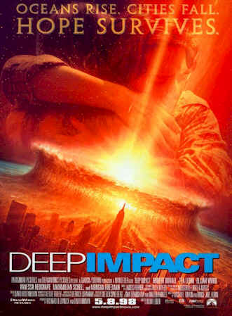 Unknown poster from the movie Deep Impact