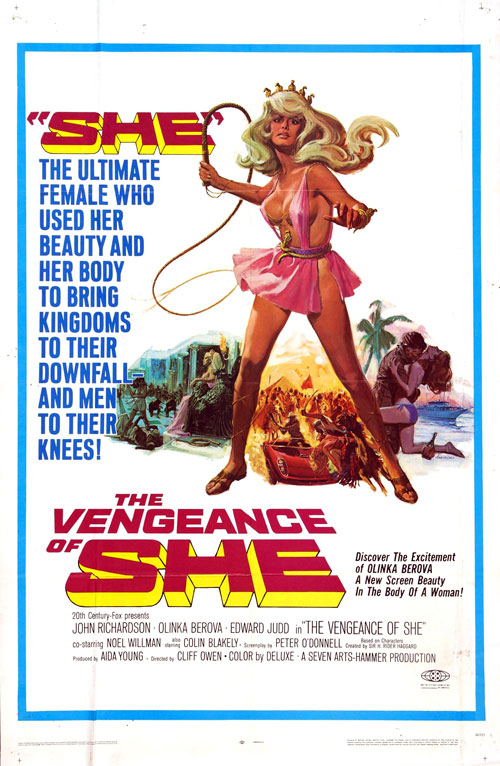 Us poster from the movie The Vengeance of She