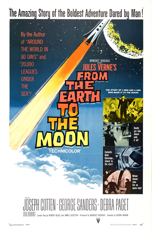 Us poster from the movie From the Earth to the Moon