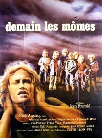 French poster from the movie Tomorrow's Children (Demain les mômes)