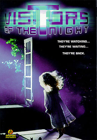 French poster from the TV movie Visitors of the Night