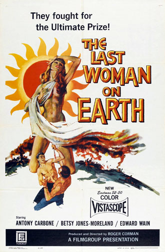 Us poster from the movie Last Woman on Earth