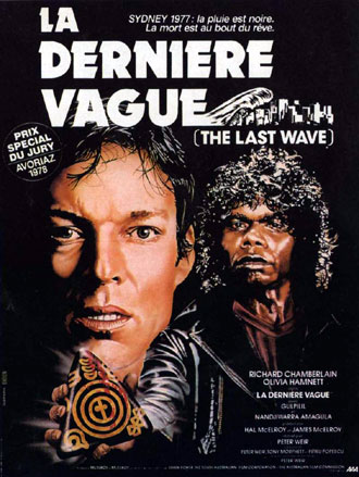 French poster from the movie The Last Wave