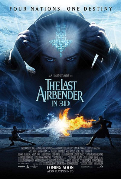Us poster from the movie The Last Airbender