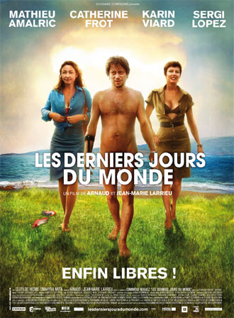 French poster from the movie Les derniers jours du monde