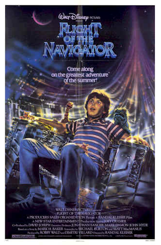 Us poster from the movie Flight of the Navigator
