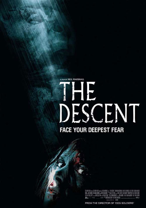 Affiche américaine de 'The Descent'