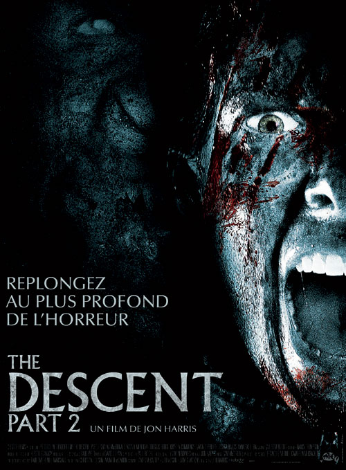 French poster from the movie The Descent: Part 2