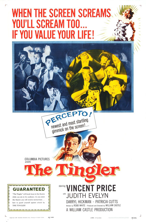 Us poster from the movie The Tingler