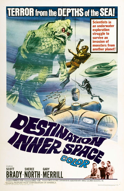 Us poster from the movie Destination Inner Space