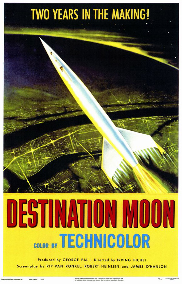Us poster from the movie Destination Moon
